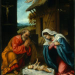 Juleevangeliet om Jesus, der bliver født i Betlehem