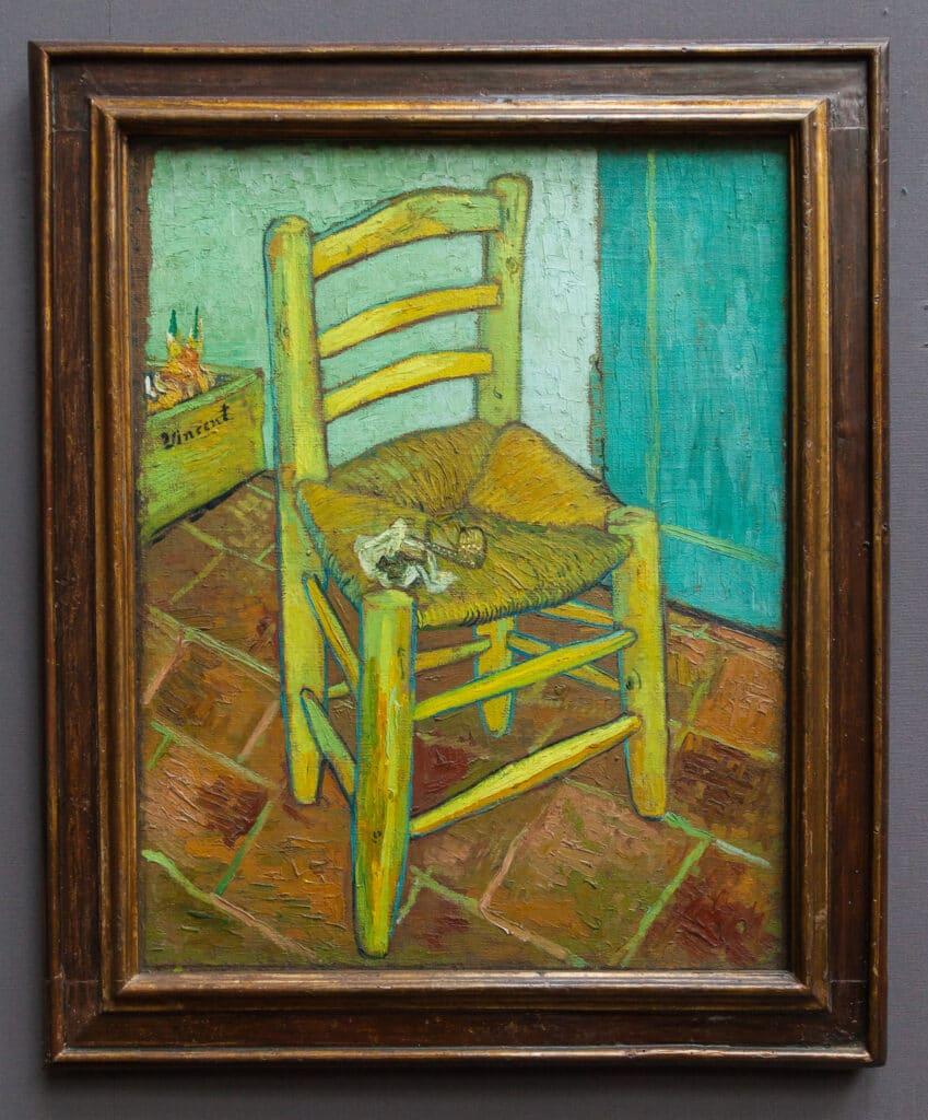 Stolen . Maleri af Vincent Van Gogh